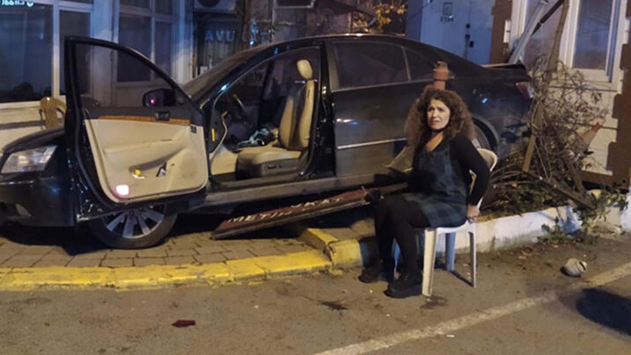 İstanbul'da ilginç kaza!