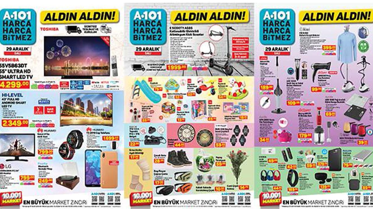 A101 29 Aralık 2020 Aktüel ürünler kataloğu!