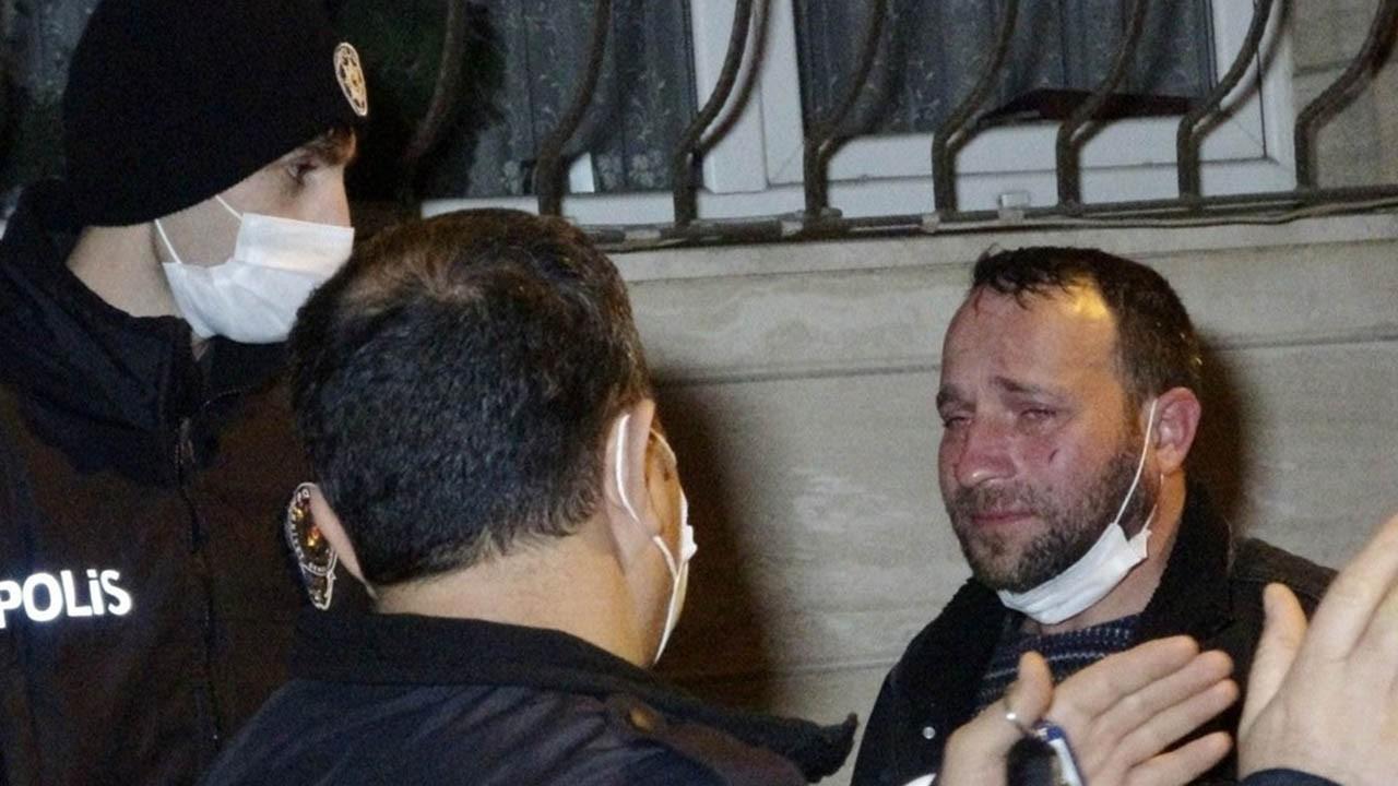 Eşi tarafından dövülen adam sokağa atıldı
