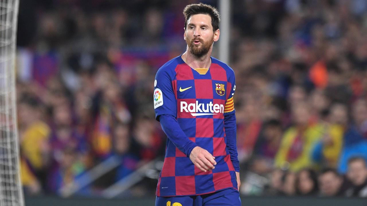 Messi'den ayrılık sinyali