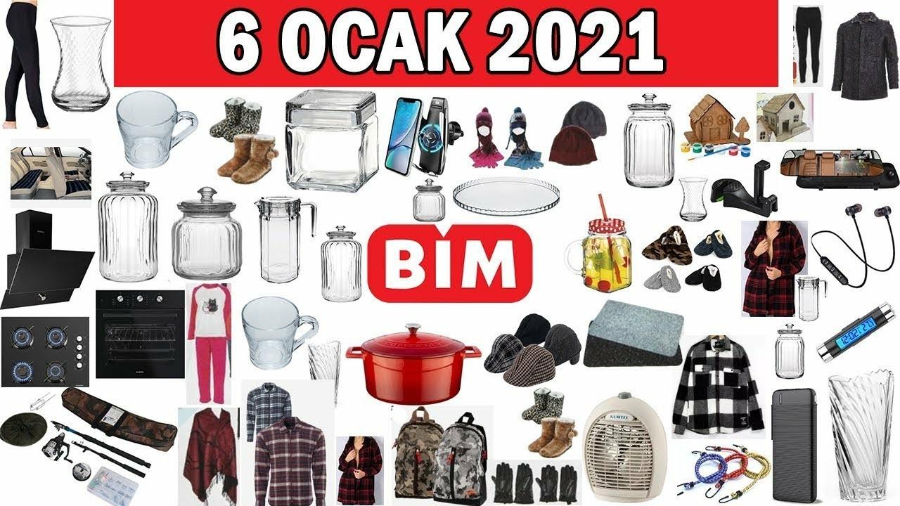 BİM 6 Ocak 2021 Aktüel ürünler kataloğu!