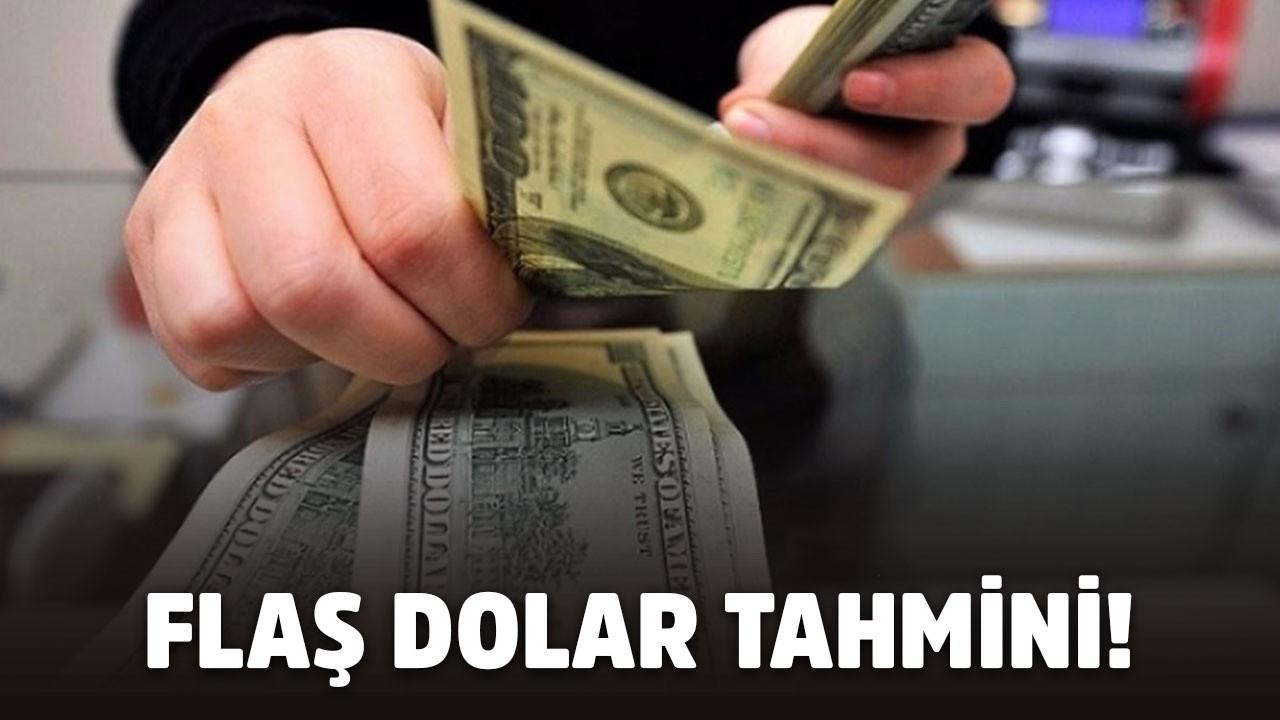 Flaş dolar tahmini! Türk halkını üzecek gelişme