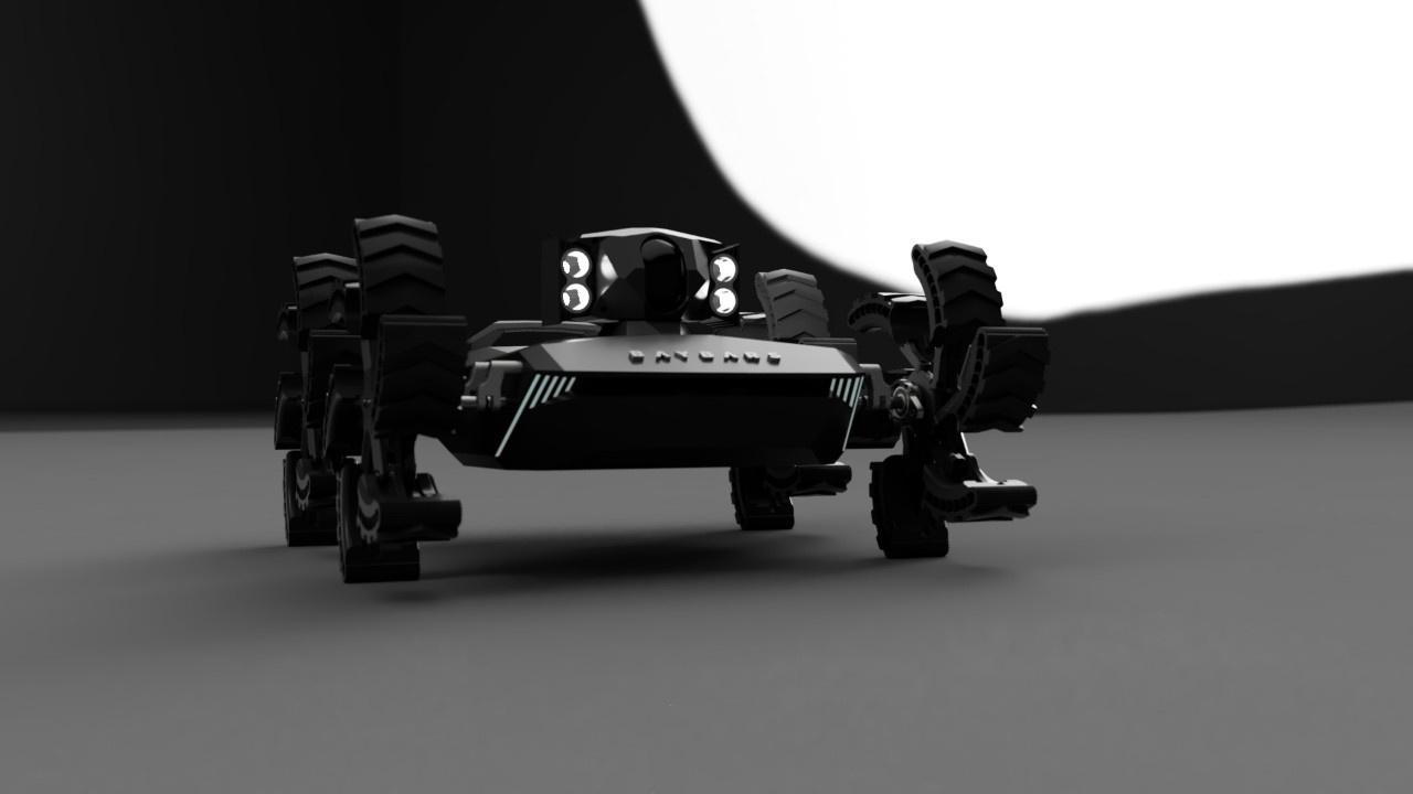 İşte ilk yerli insansız kara aracı: Baybars