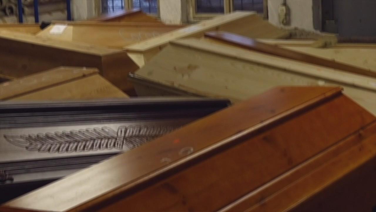 Vahim tablo! Krematoryumlar cesetlerle doldu!