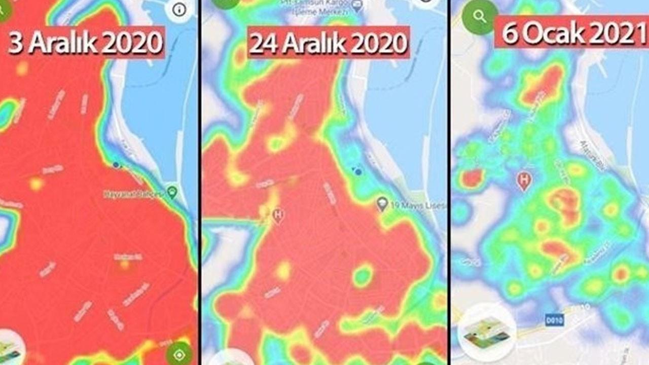 Bu ilde haritada kırmızı alan kalmadı