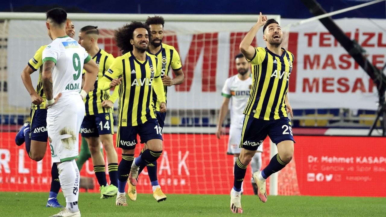 Nefes kesen maçın galibi Fenerbahçe oldu