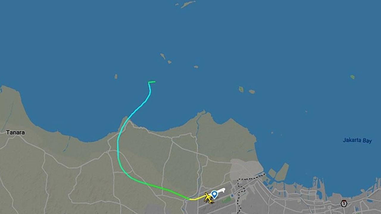Endonezya'da yolcu uçağı faciası!