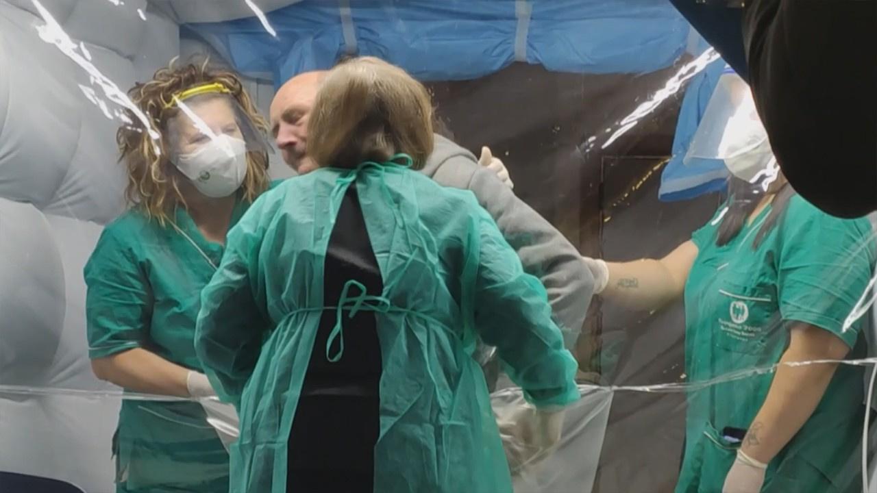 Korona virüse karşı 'Sarılma Odası'
