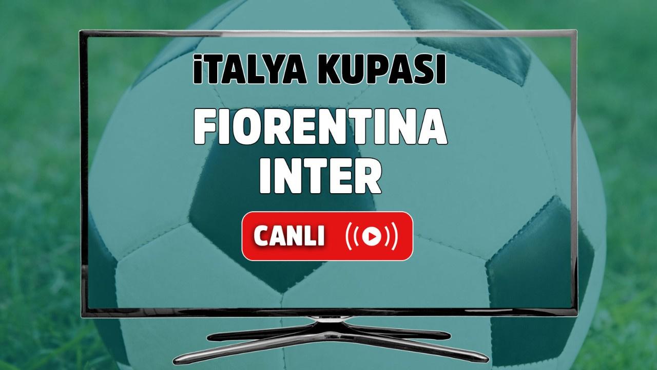 Fiorentina - Inter Canlı