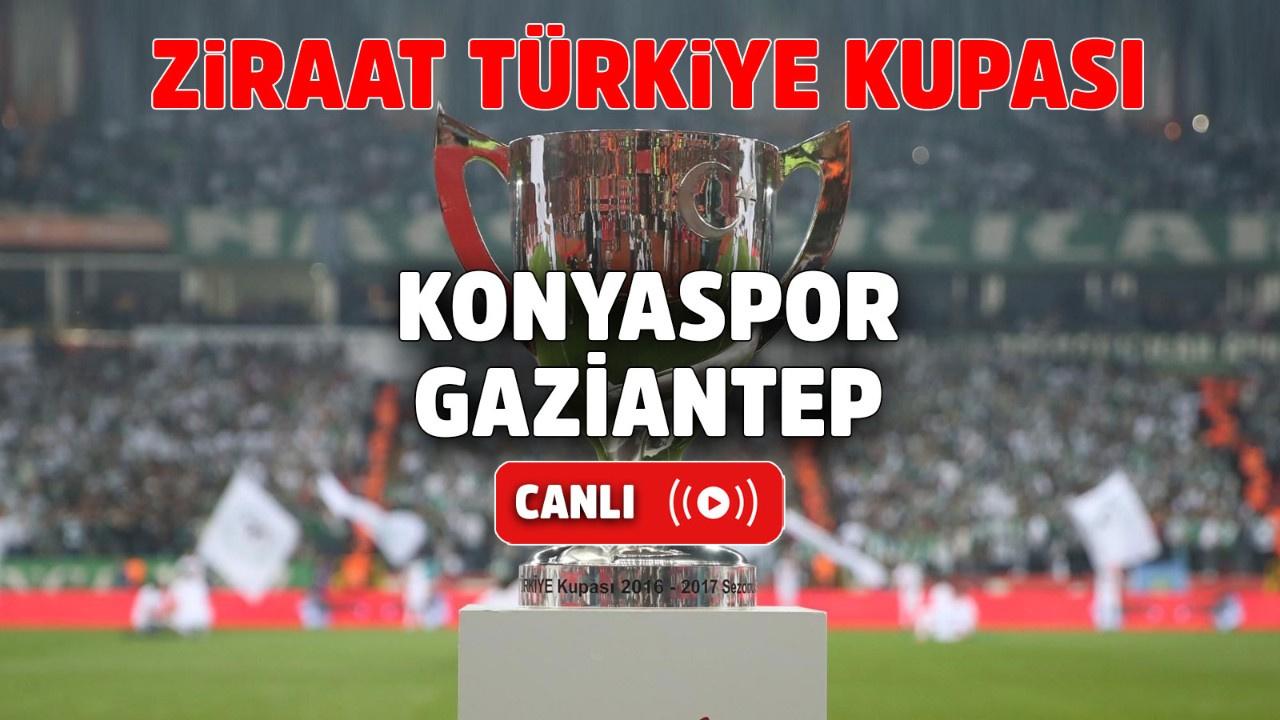 Konyaspor – Gaziantep Canlı