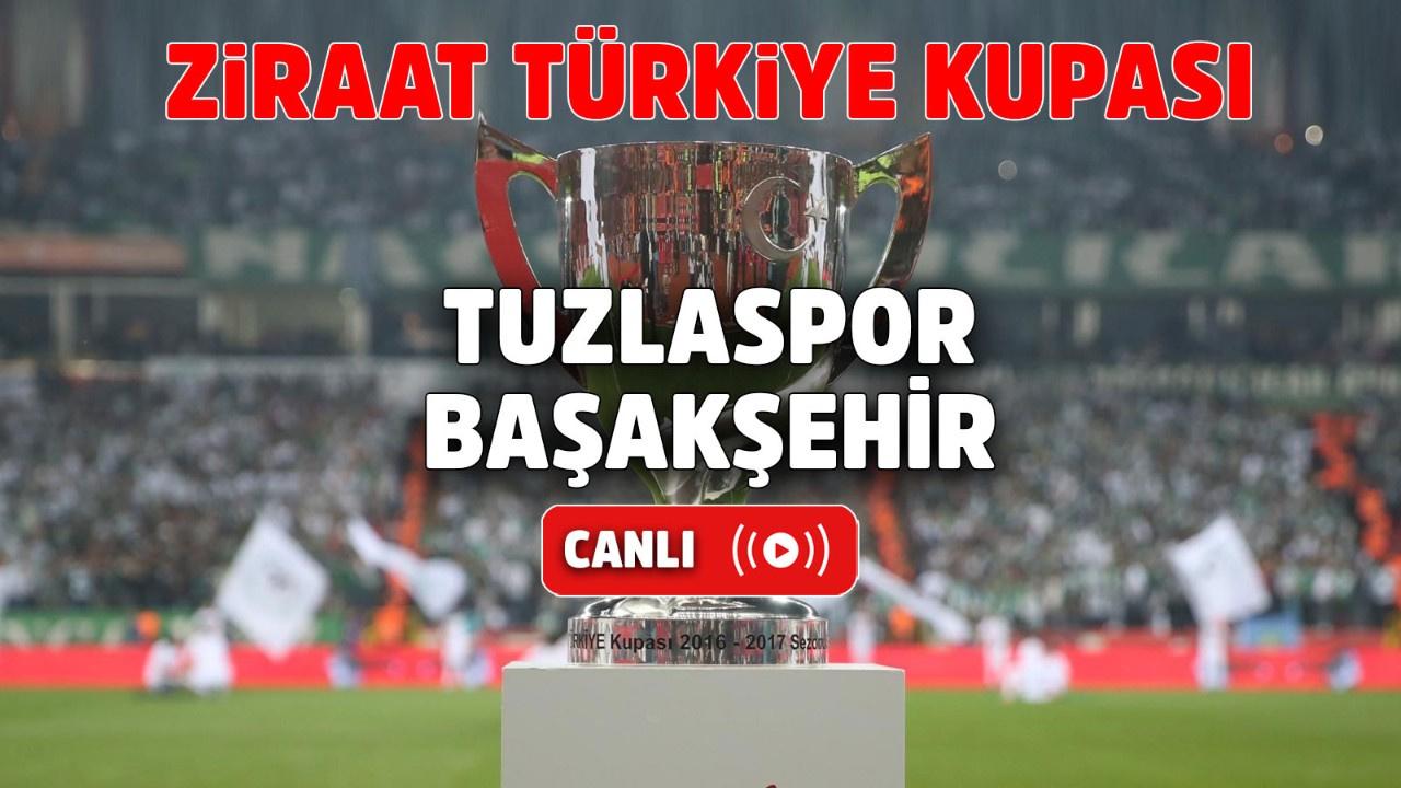 Tuzlaspor – Başakşehir Canlı