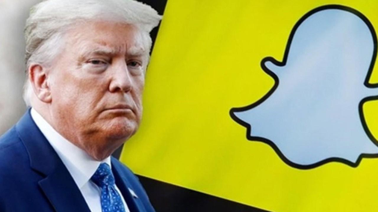 Trump'a bir darbe de Snapchat'ten!