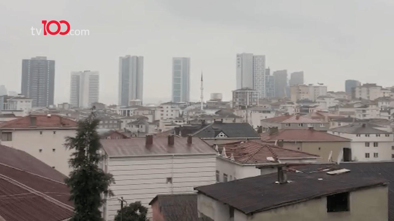 İstanbul'da kar yağışı başladı!