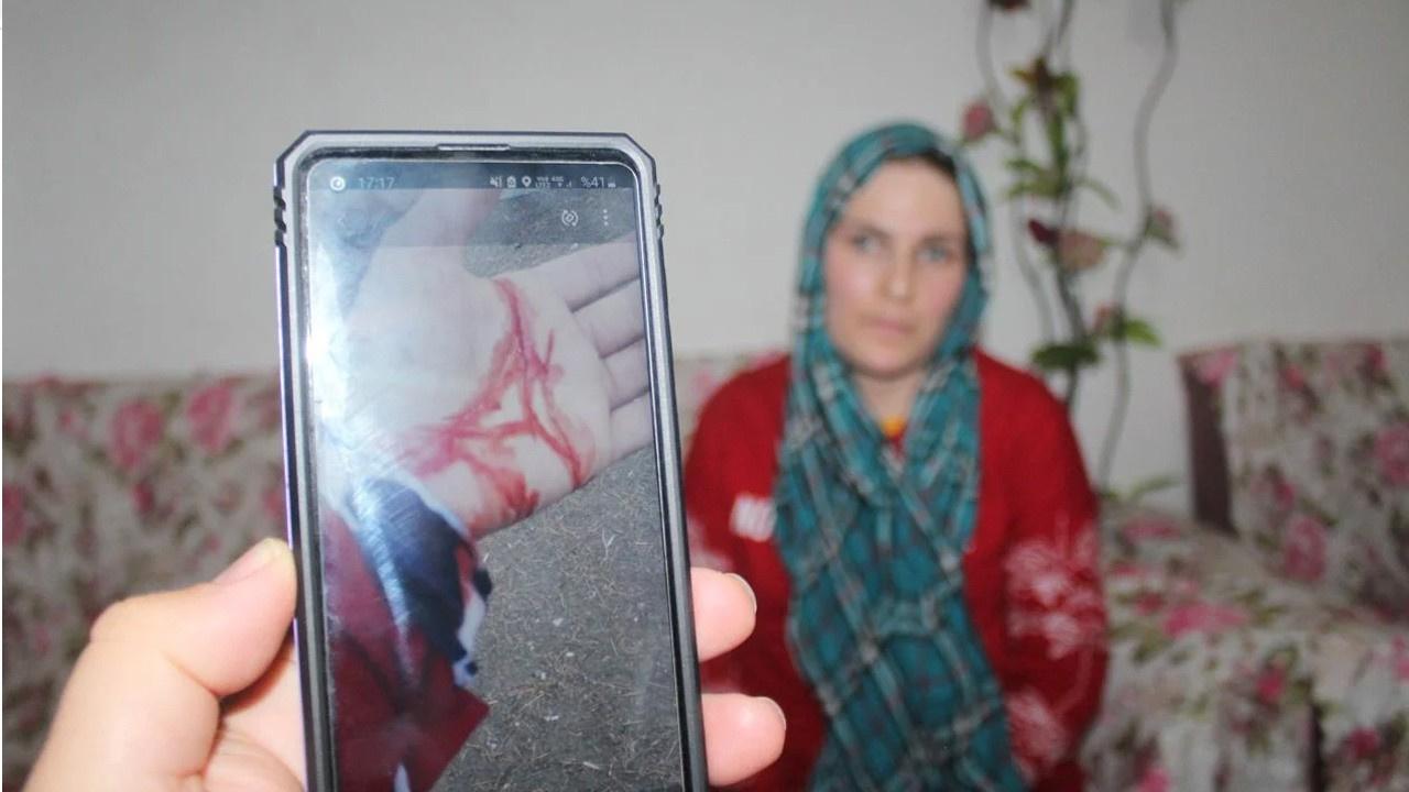Şiddet gördüğü eşinin ölüm haberini aldı!
