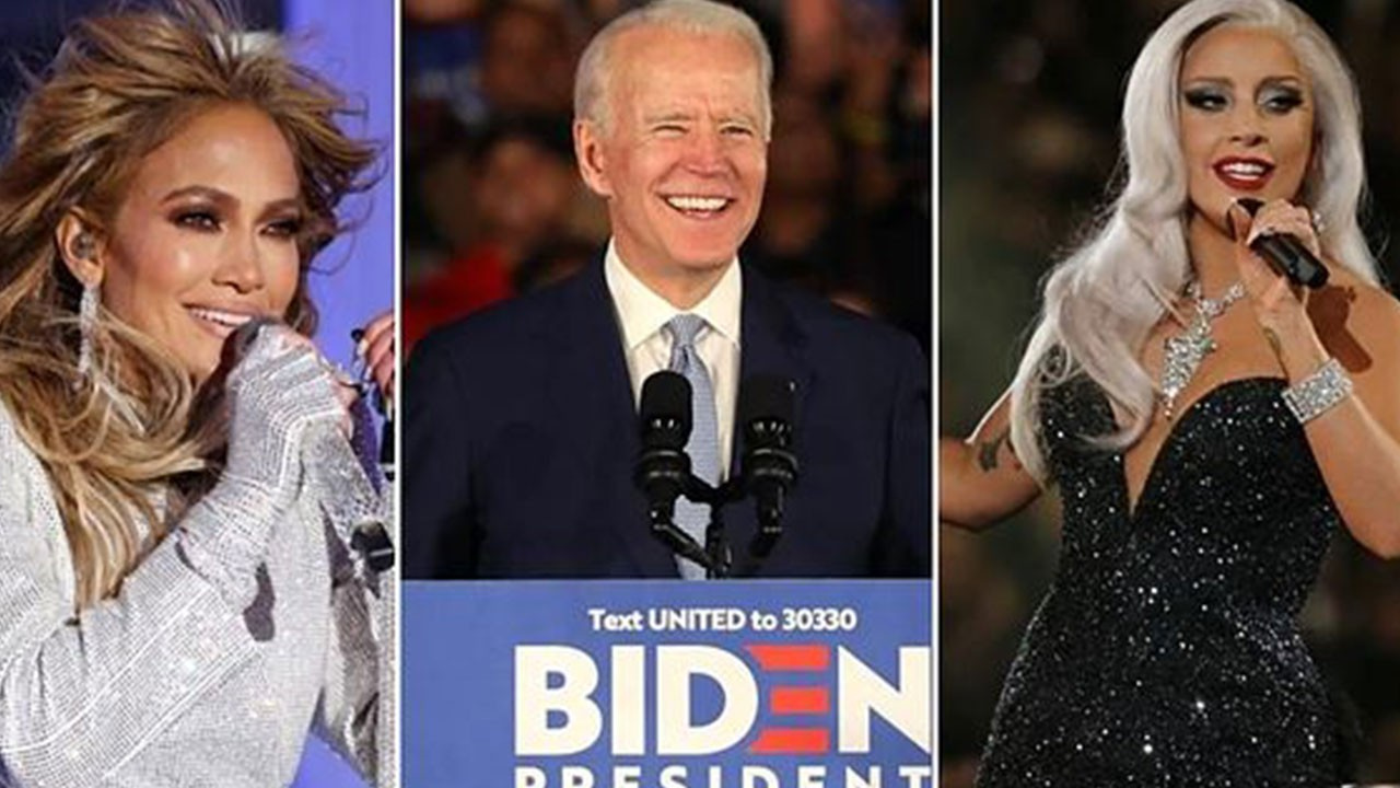 Joe Biden'ın yemin töreni yıldızlar geçidi olacak!