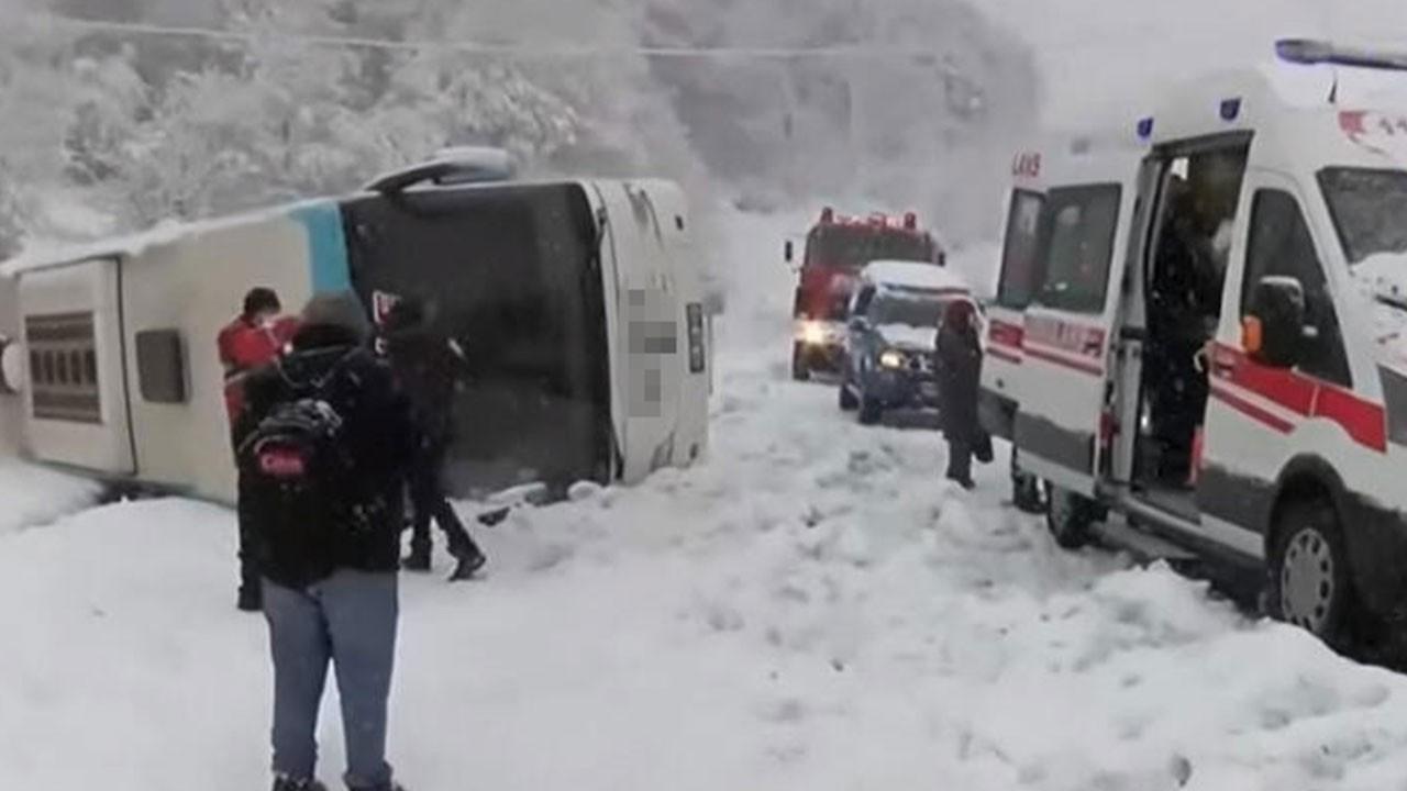 Zonguldak-İstanbul karayolunda feci kaza!