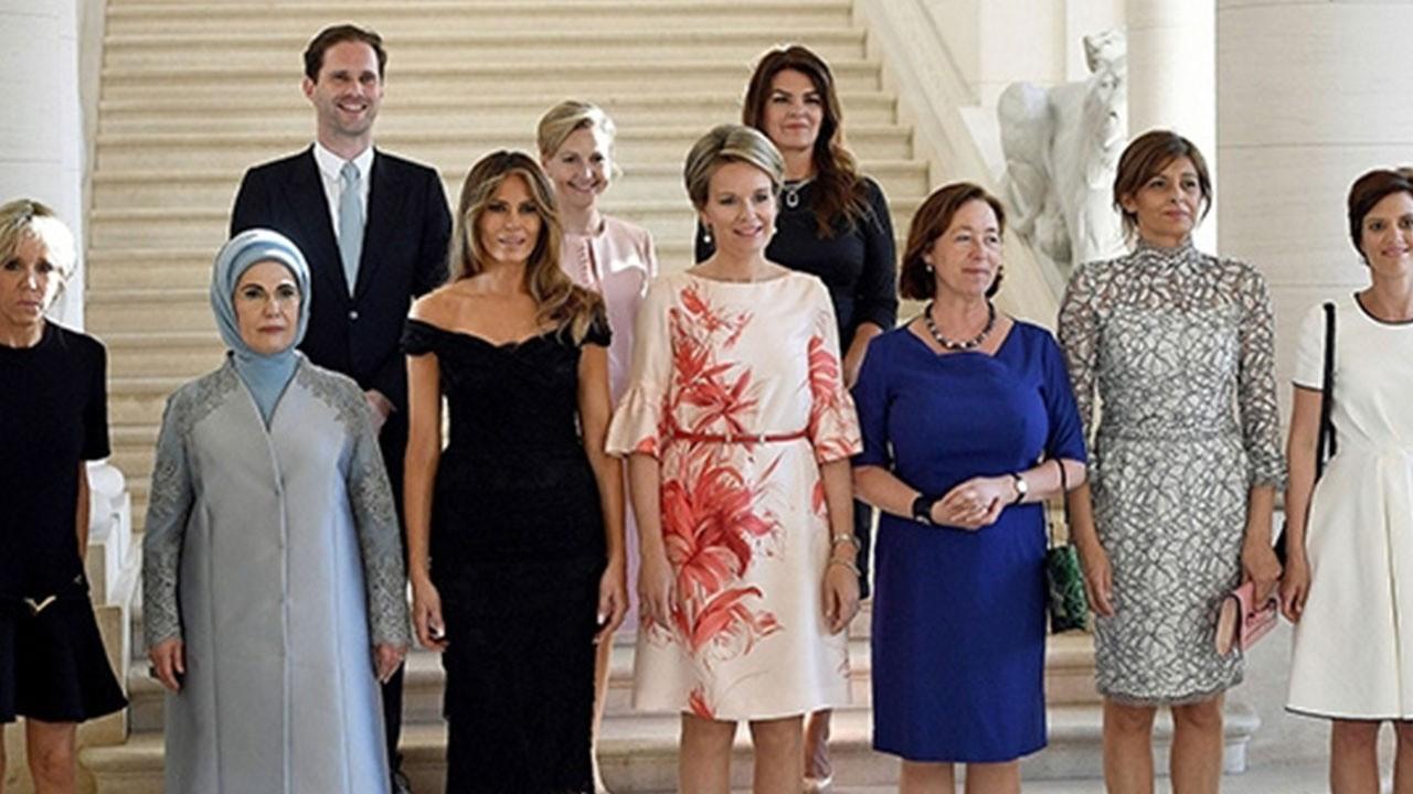 """Her zaman şık görünen """"First Lady""""ler ve tarzları"""