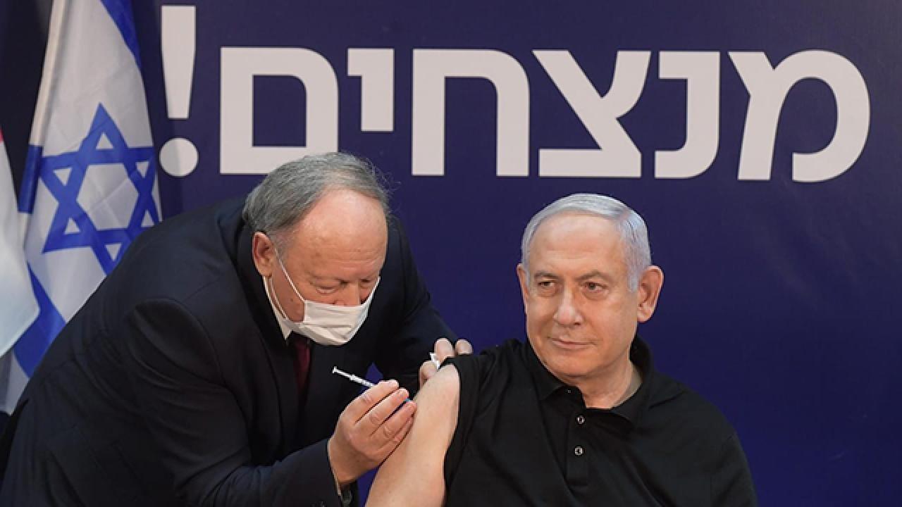 İsrail'de aşı olan 13 kişi yüz felci oldu