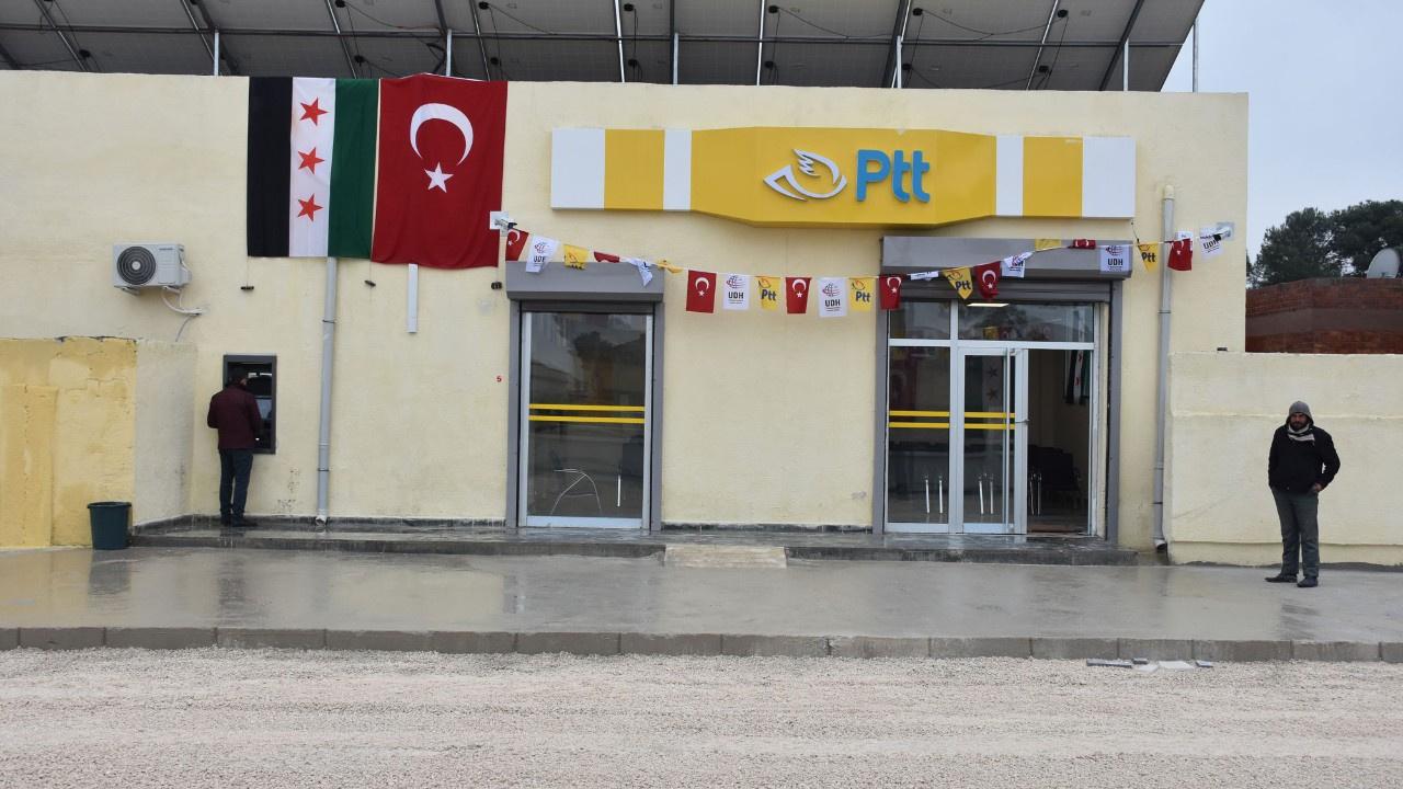 Barış Pınarı Harekatı bölgesinde PTT açıldı