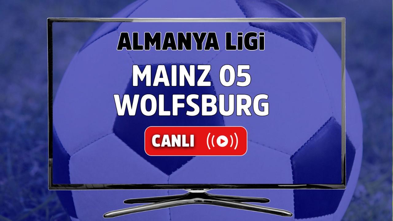 Mainz 05 – Wolfsburg Canlı