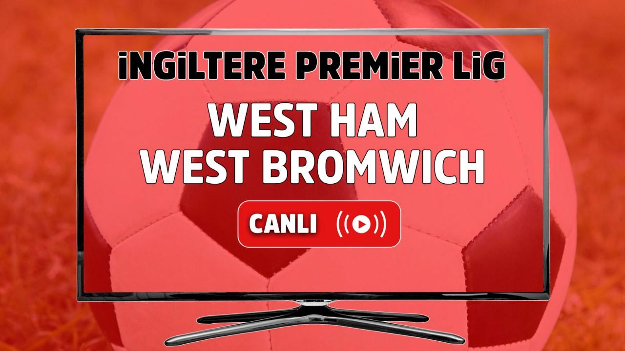 West Ham – West Bromwich Maçı Canlı