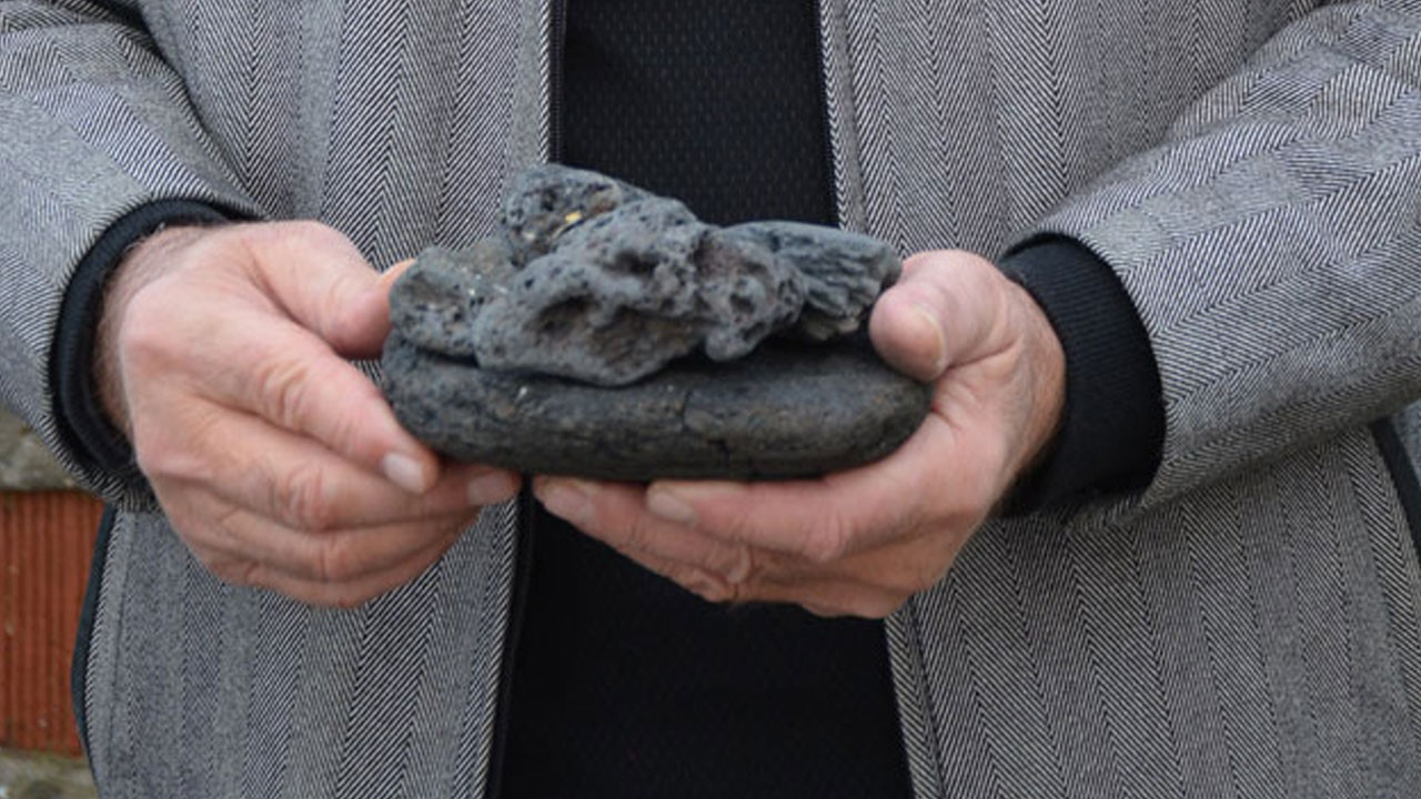 Arazisindeki taşlara 1 milyon lira istiyor