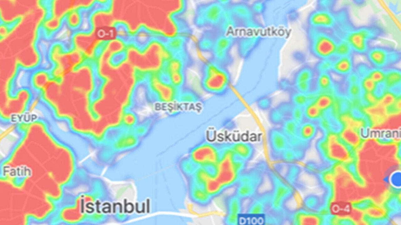 İşte İstanbul risk haritasının son durumu