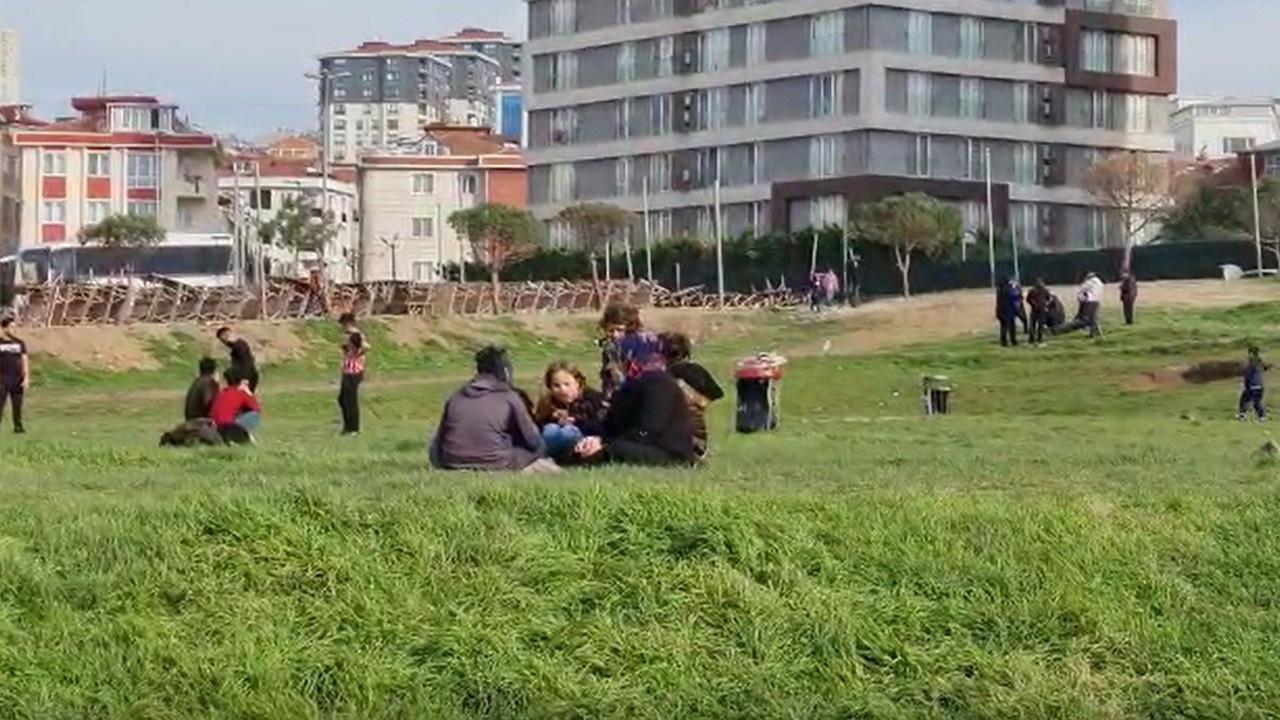 Sokağa çıkma yasağını takan yok: Burası İstanbul!