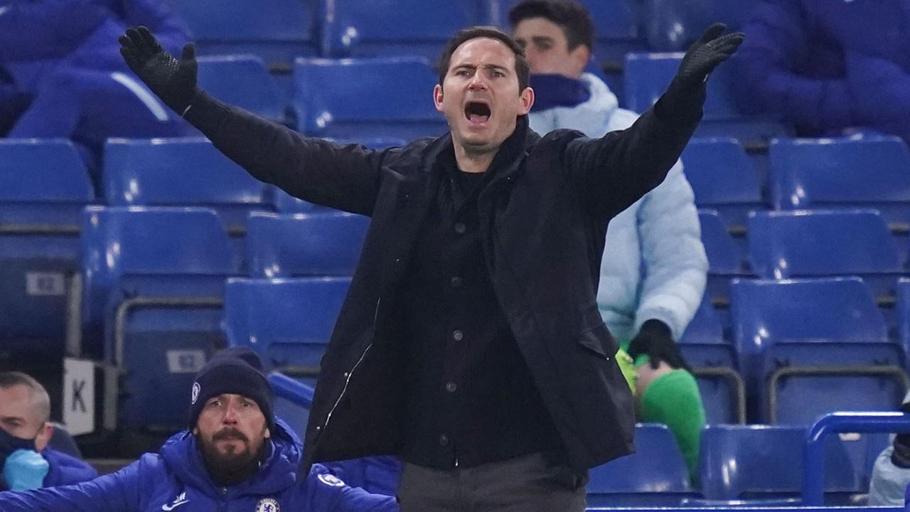Lampard dönemi sona erdi!