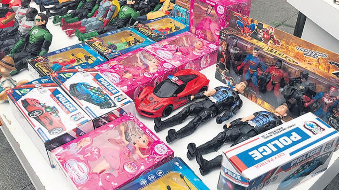 40 milyonluk kaçak oyuncak ele geçirildi
