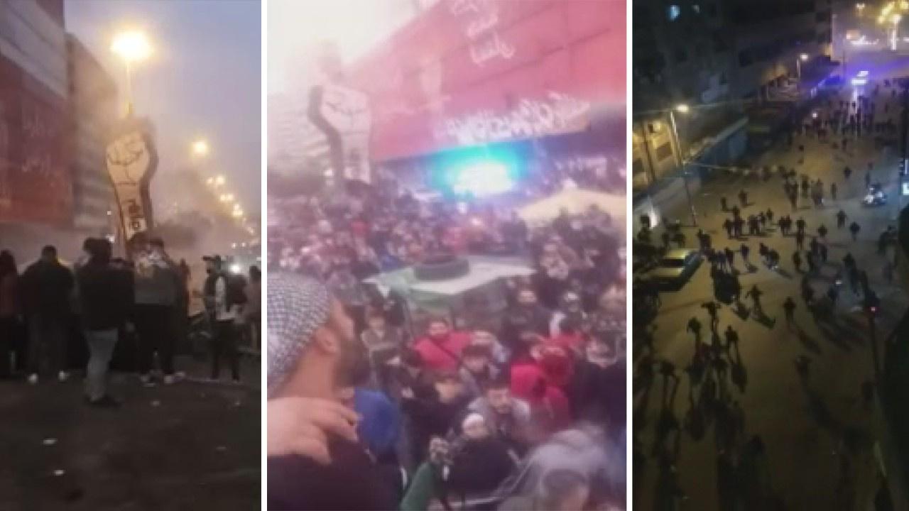 Lübnan'da sokağa çıkma yasağı protestoları!