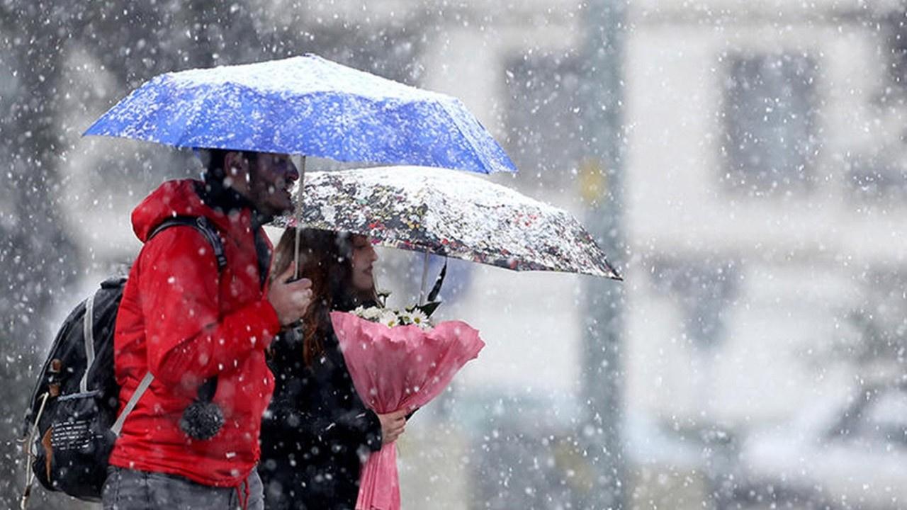 Meteoroloji bölge bölge uyardı: 45 cm kar...
