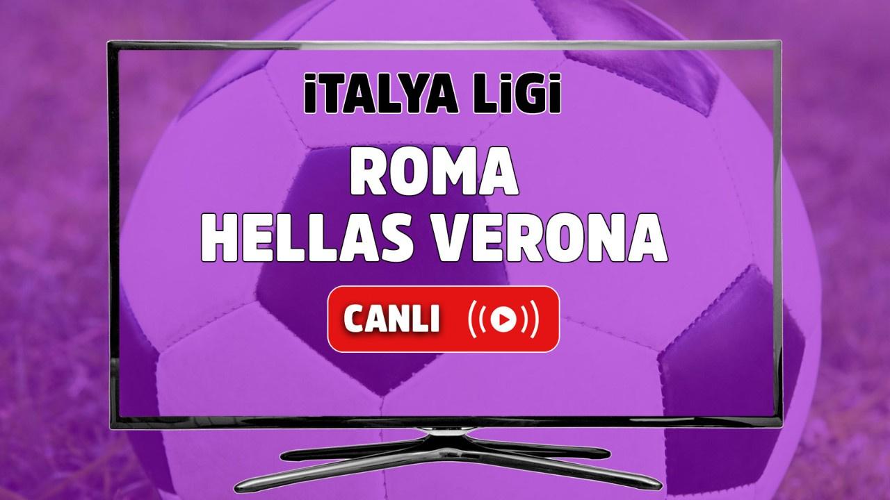 Roma - Hellas Verona Canlı