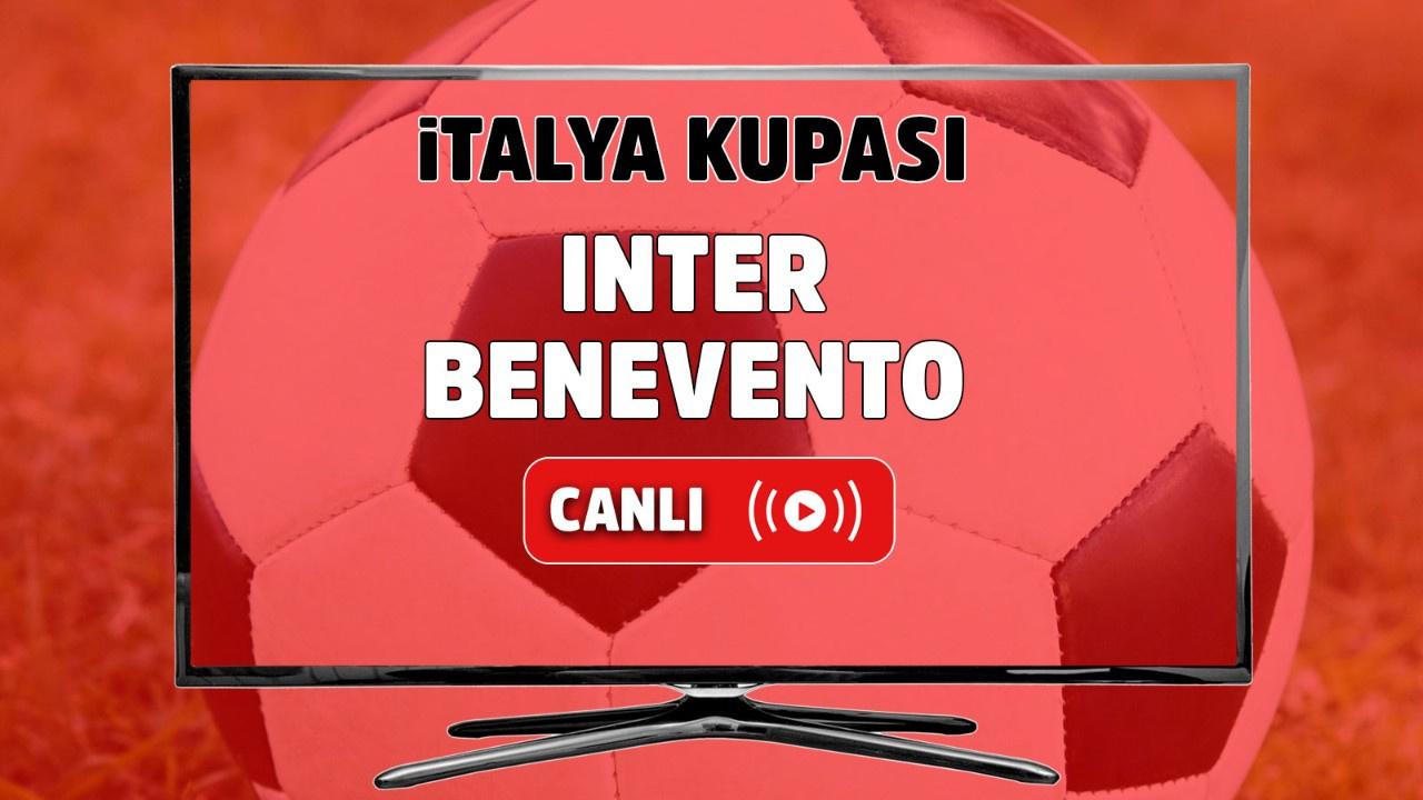 Inter - Benevento Canlı