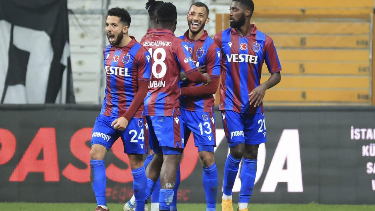Beşiktaş'a Trabzonspor darbesi: 1-2