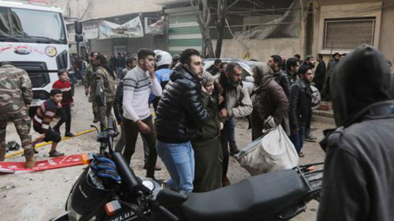 Suriye'de terör saldırısı: Ölü ve yararlılar var