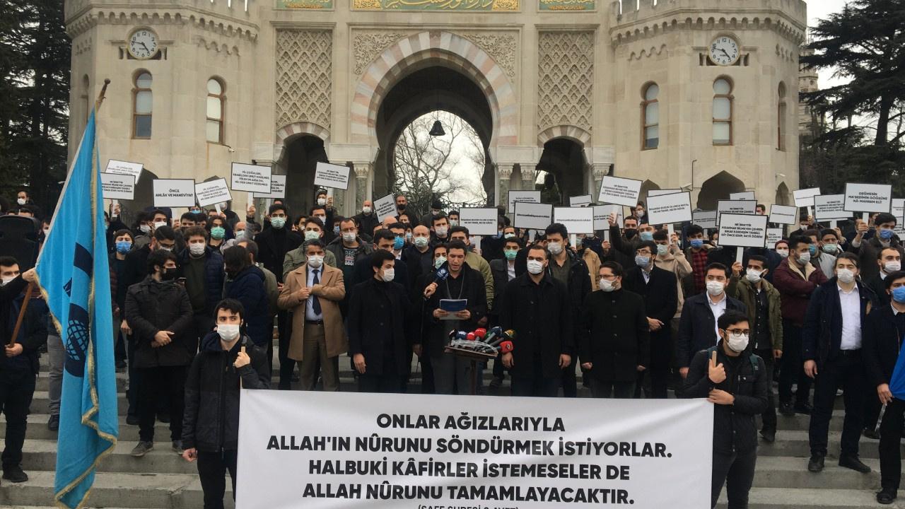 AGD'den Boğaziçi Üniversitesi protestosu