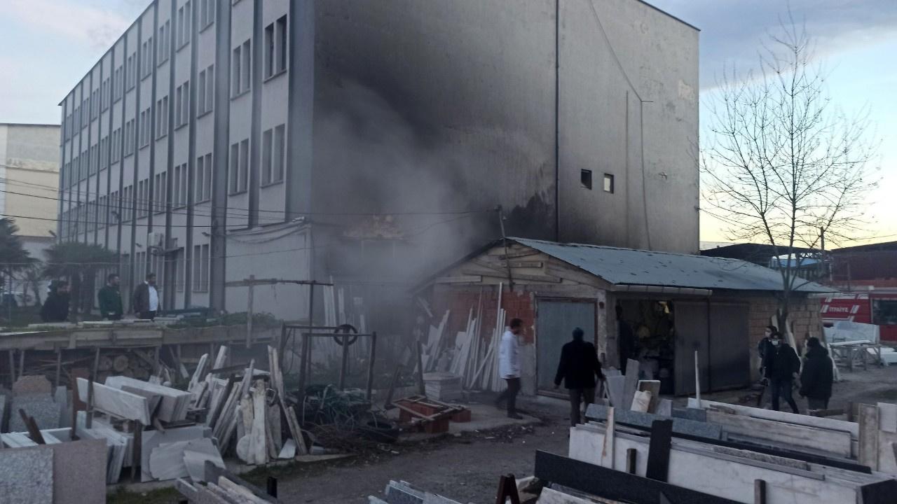 Aynı fabrikada 2.5 ay sonra yine yangın çıktı
