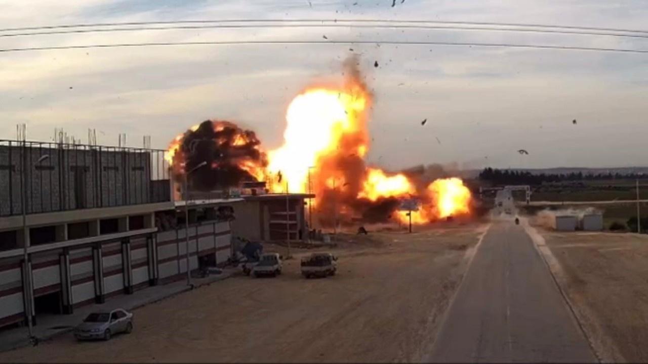 El Bab'da terör saldırısı: 1 sivil hayatını kaybet