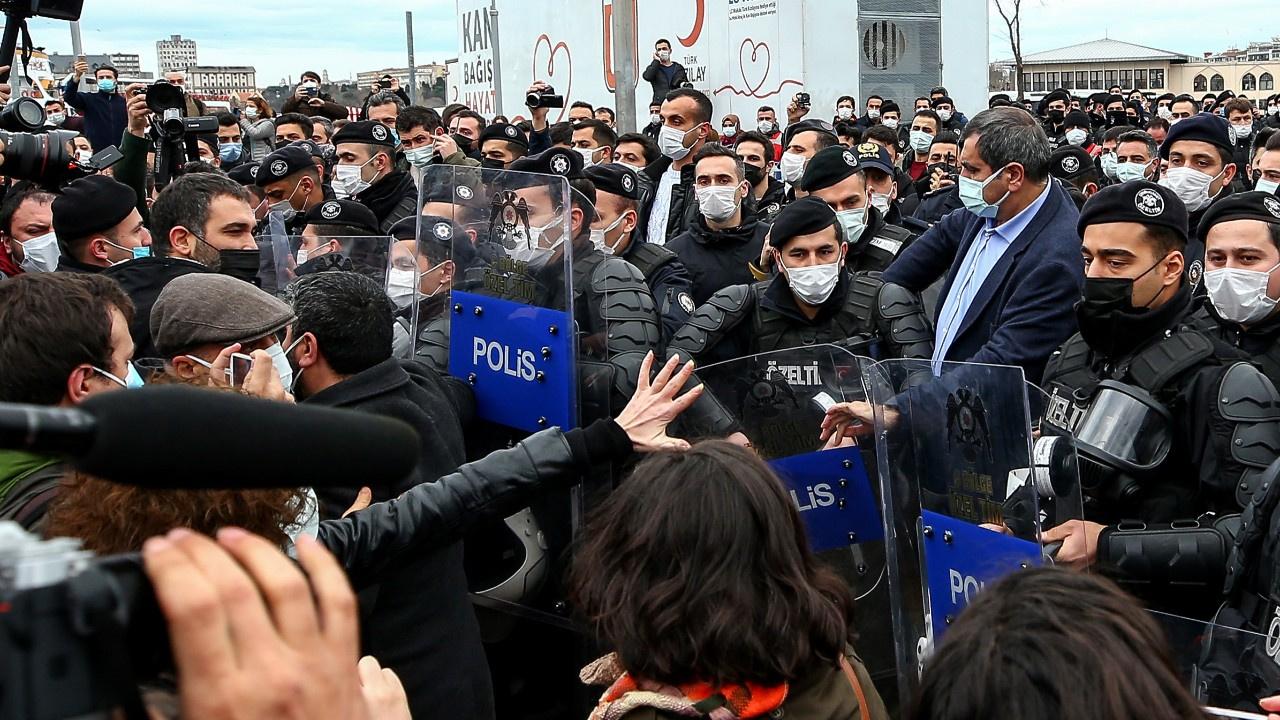 Boğaziçi Üniversitesi'ne desteğe 104 gözaltı