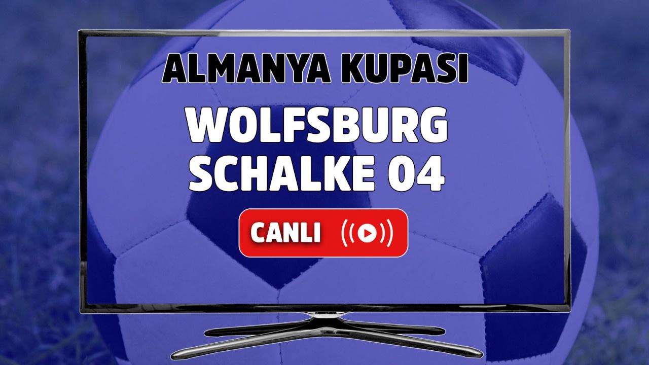 Wolfsburg – Schalke 04 Canlı