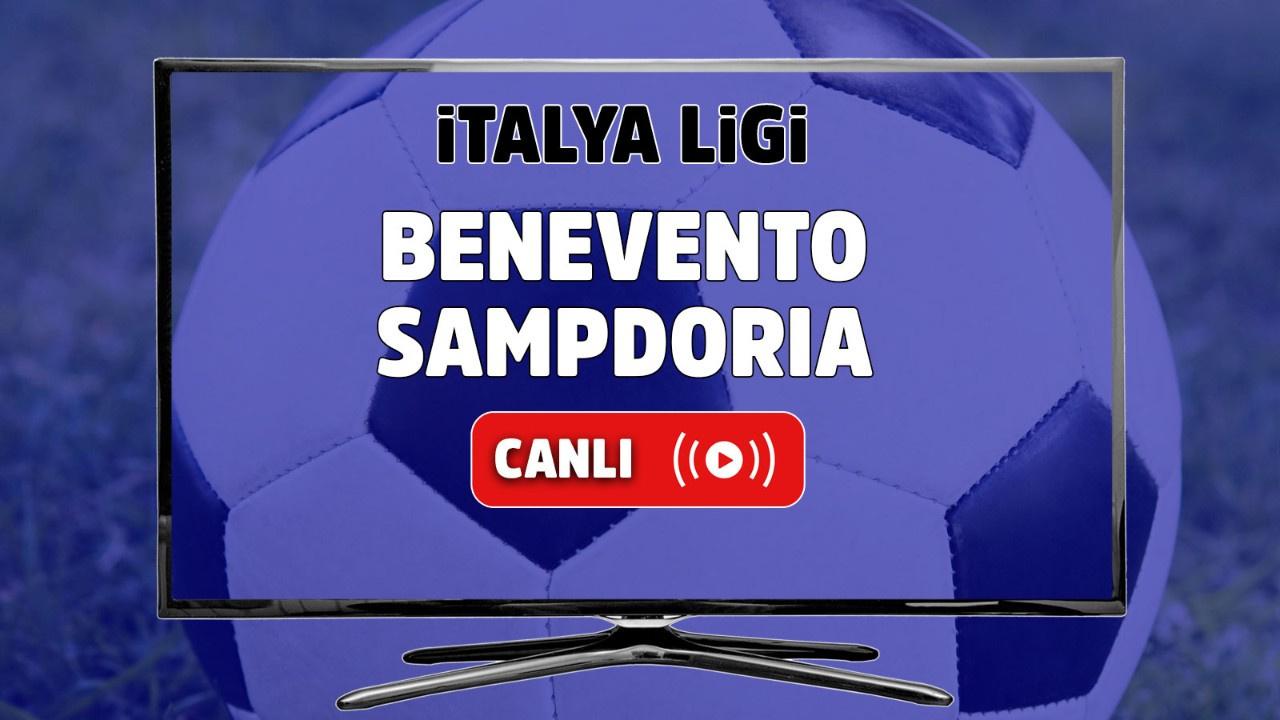 Benevento - Sampdoria Canlı