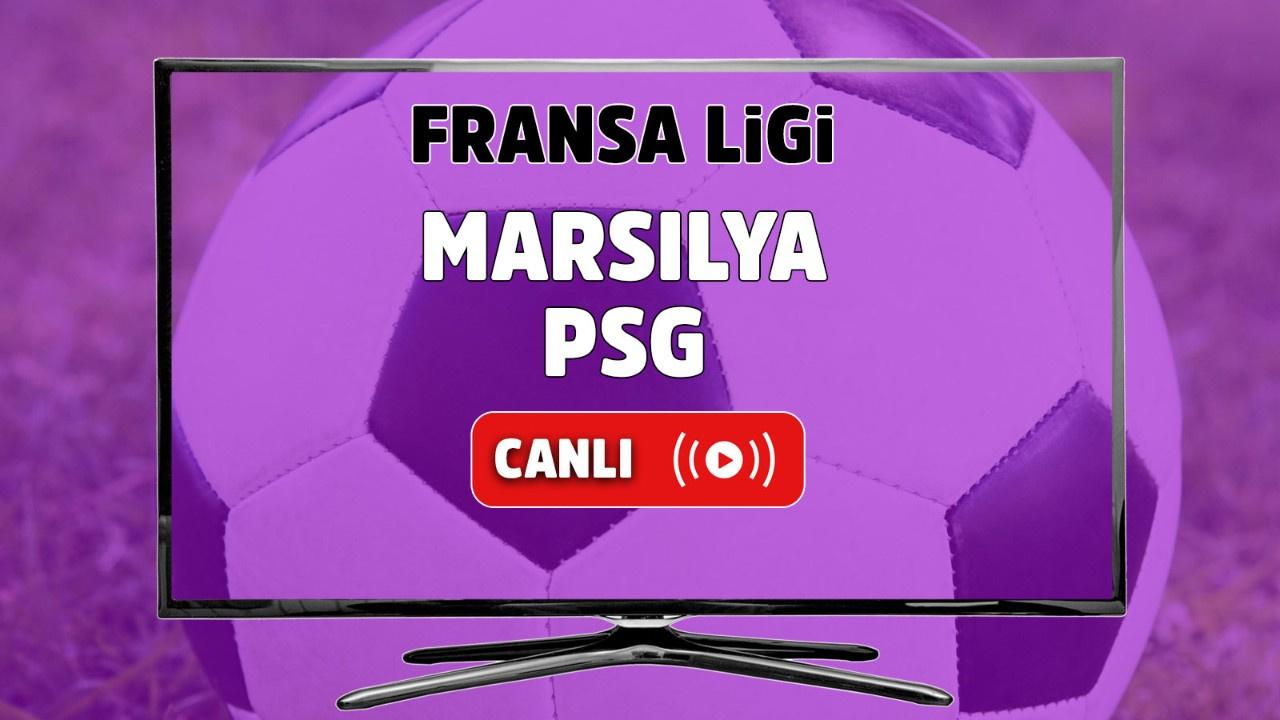 Marsilya - PSG Canlı