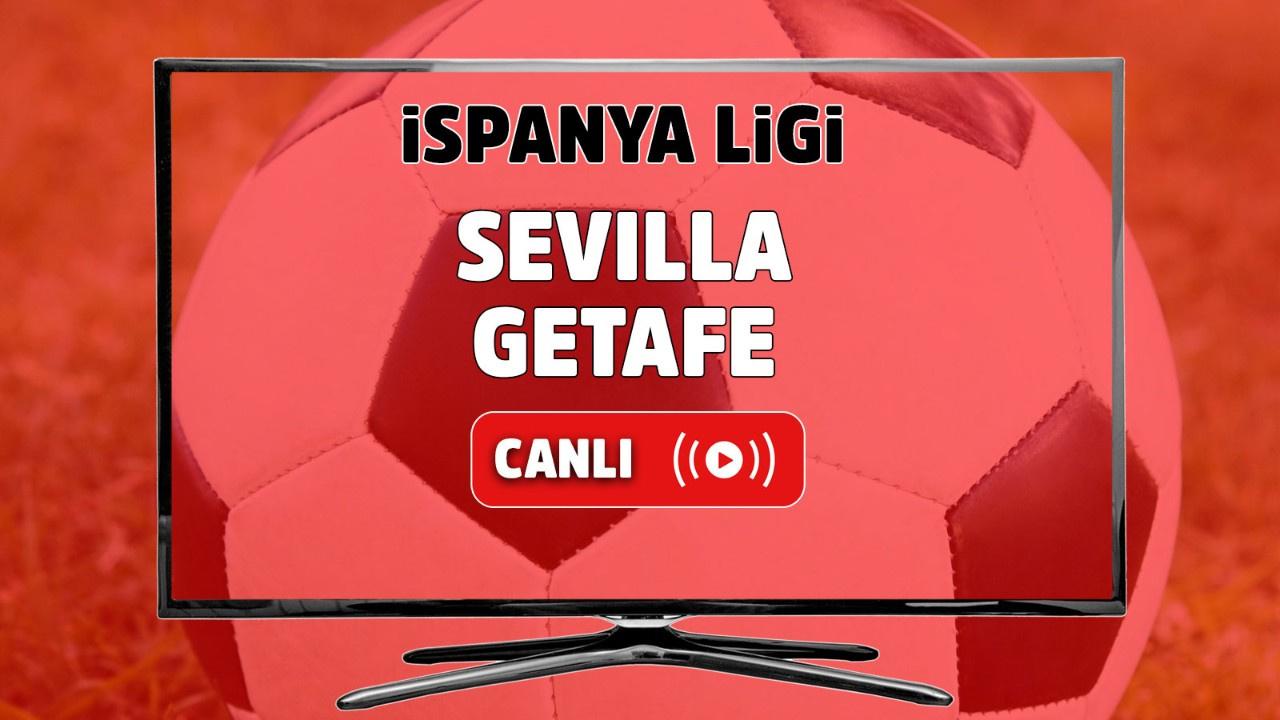 Sevilla - Getafe Canlı