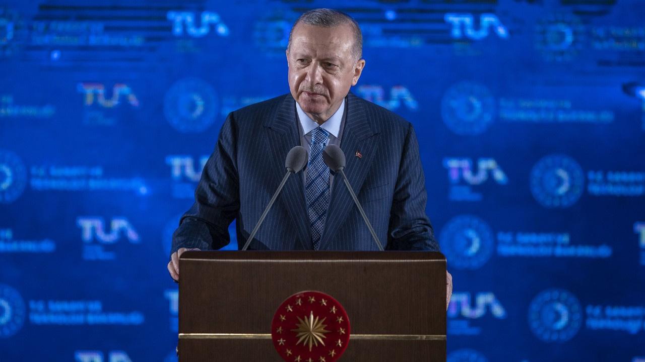Erdoğan, Milli Uzay Programı'nda konuşuyor