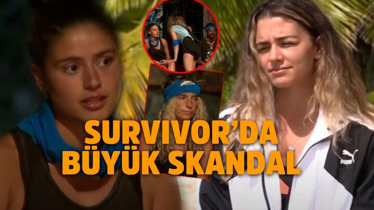 Survivor'da büyük skandal!