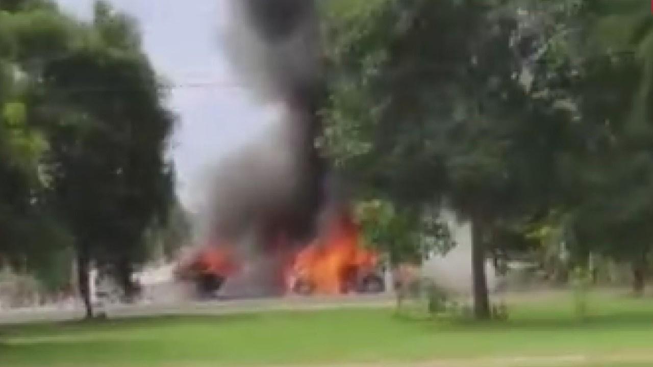 Paraguay'da askeri uçak düştü: 7 ölü, 1 yaralı