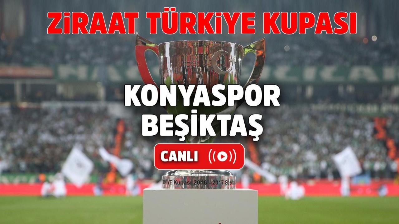 Konyaspor – Beşiktaş Canlı