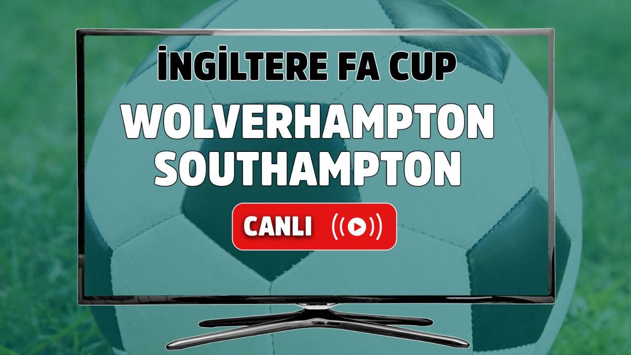 Wolverhampton – Southampton Maçı Canlı