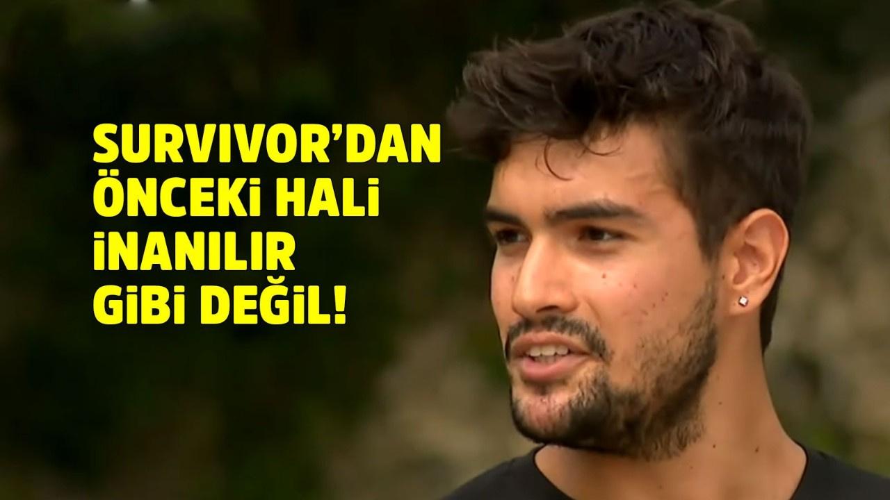 Survivor Yiğit'in inanılmaz değişimi!
